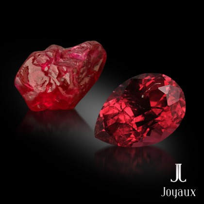 Unheated Pigeon Blood Red Ruby 0.4ct.