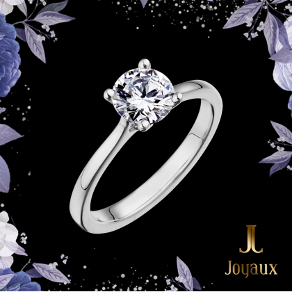 1 CT. Diamond Solitaire Engagement Ring