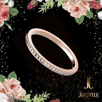 Rose Gold Eternity Ring 0,32cttw.