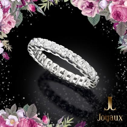Diamond Wedding Eternity Ring 1cttw.
