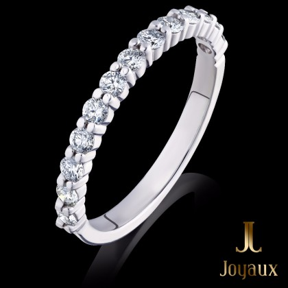 Diamond Wedding Half Eternity Ring