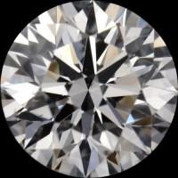 Round diamond 0.5 carat E VS1