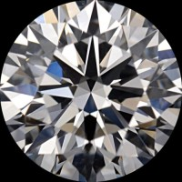 Diamond Side Stones Ring (0,83 ct.tw.) in White Gold 18k