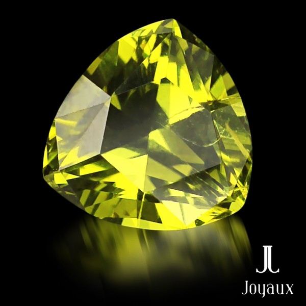 Deep Yellowish-Green Peridot 3,05ct.