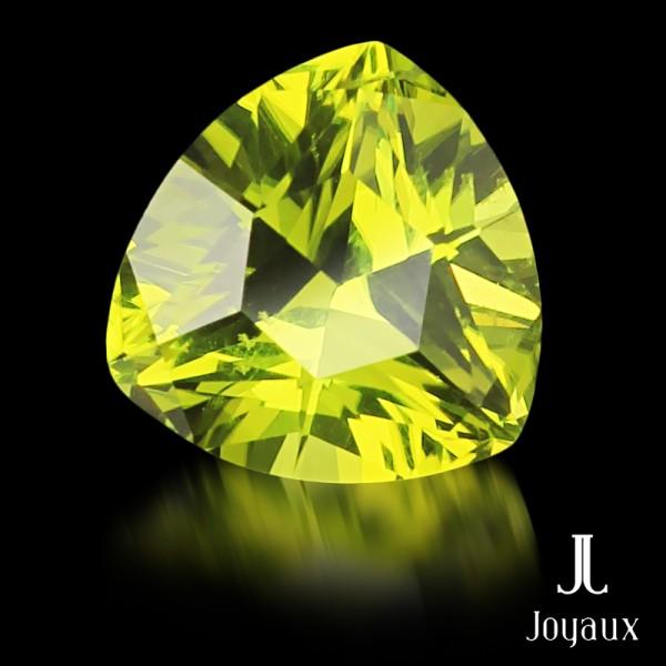Vivid Yellowish-Green Peridot 2,41ct.