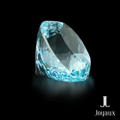 Rich Blue Aquamarine 139,1ct.