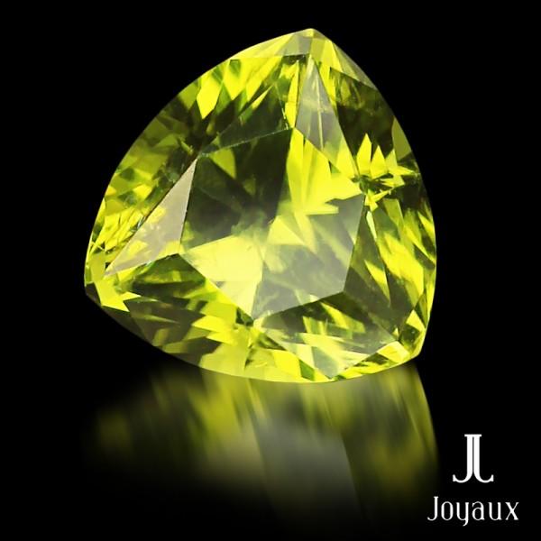 Vivid Yellowish-Green Peridot 2,4ct.