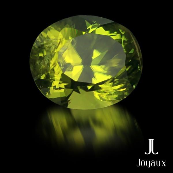 Intense Yellowish-Green Peridot 3,36ct.
