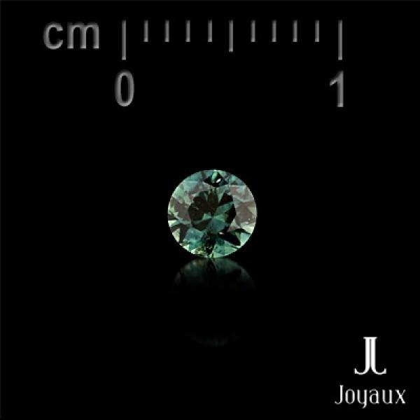 Intense Bluish Green Sapphire 0,3ct.
