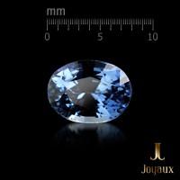 Sapphire 1.79ct. and Diamond Cluster Pendant