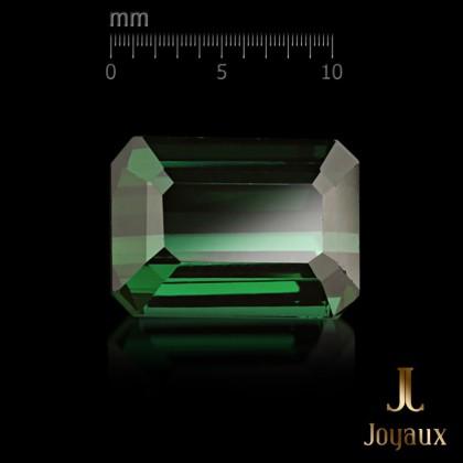 Green Tourmaline - Verdelite and Diamond Ring