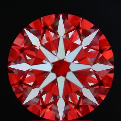 Diamond Hoop Earrings in 14K White Gold (approx. 1,53 ct. tw.)