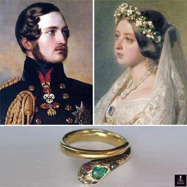 помолвочное кольцо королевы Виктории