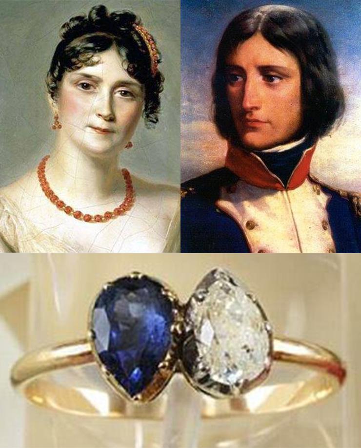 Помолвочное кольцо Жозефины Богарне