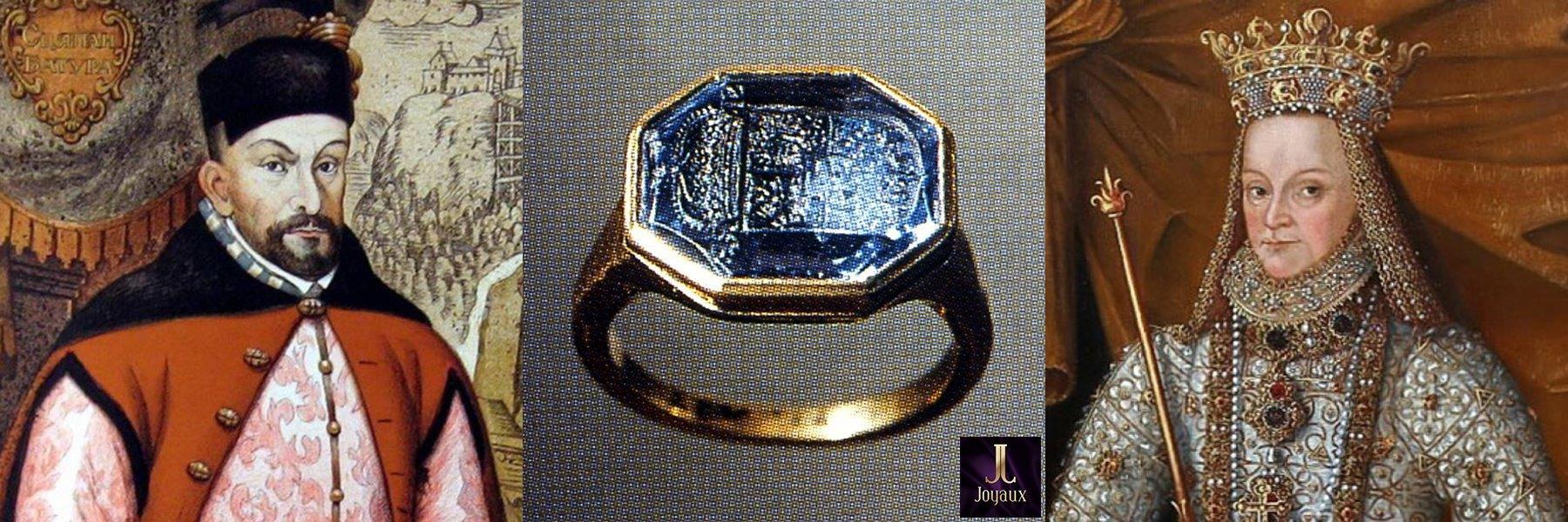 перстень с сапфиром короля Польши