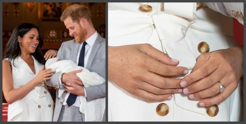 Кольцо с бриллиантами по случаю рождения сына