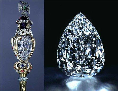 Алмаз Куллинан для королевского скипетра